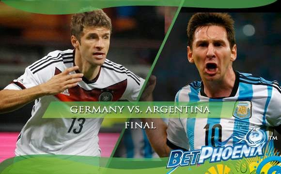 2014 FIFA world cup final Match germany vs argentina in Maracana Stadium