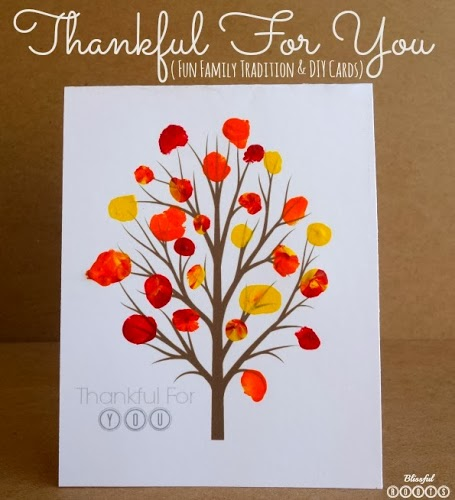 Thankful For You Printable Cards