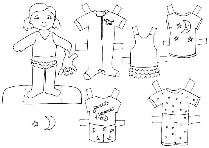diario de una maestra de guarderia...: vamos a vestir a los muñecos
