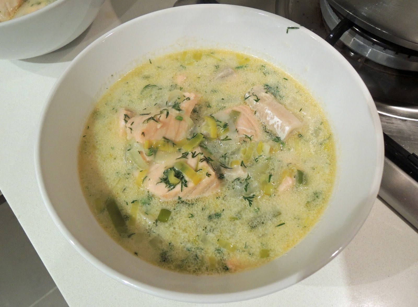 Eating in a boxLohikeittoFinnish Salmon Soup