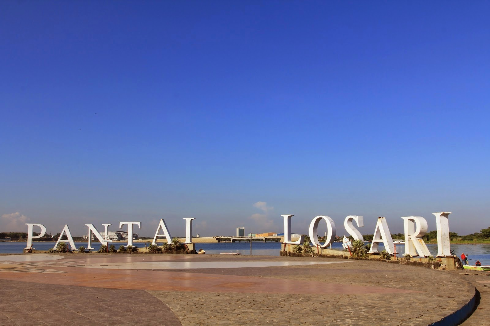Losari Beach City Of Makassar