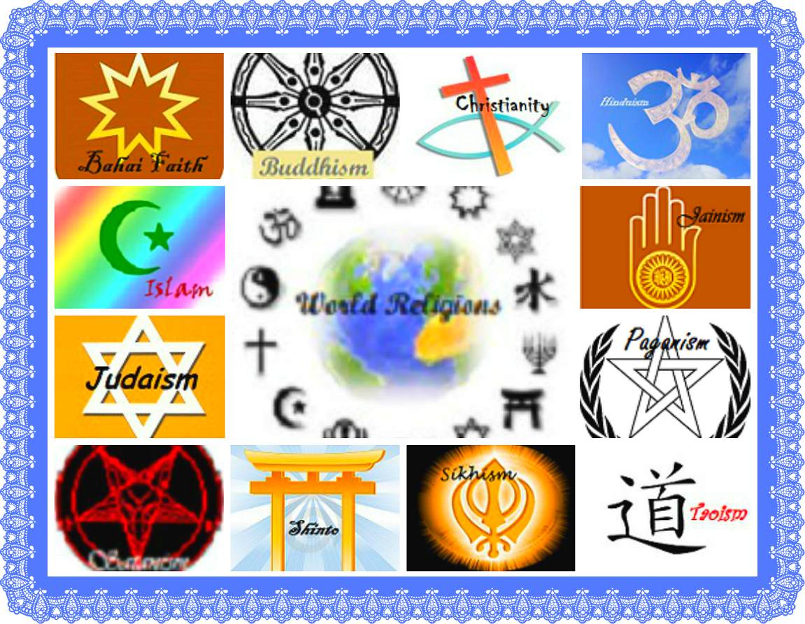 different types of religion There are other views of god besides those of the major western religions the eight views of god you can see it comes down to 8 different views of god.