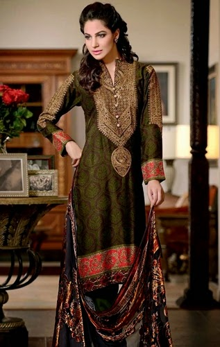 GulAhmed FW Silk Collection-14/15