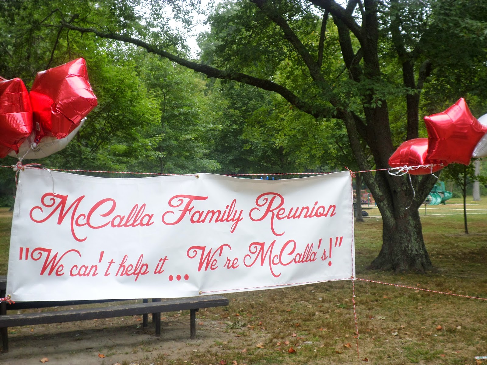 McCalla Family Reunion Banner Printed by Banners.com