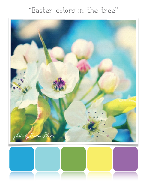 Easton place designs blog wordless wednesday easter - What are the easter colors ...