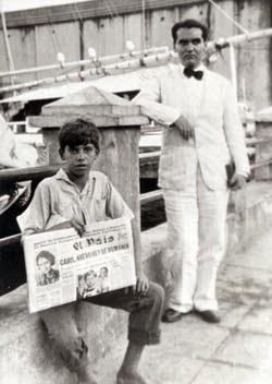Federico Garcia Lorca en Cuba en 1930