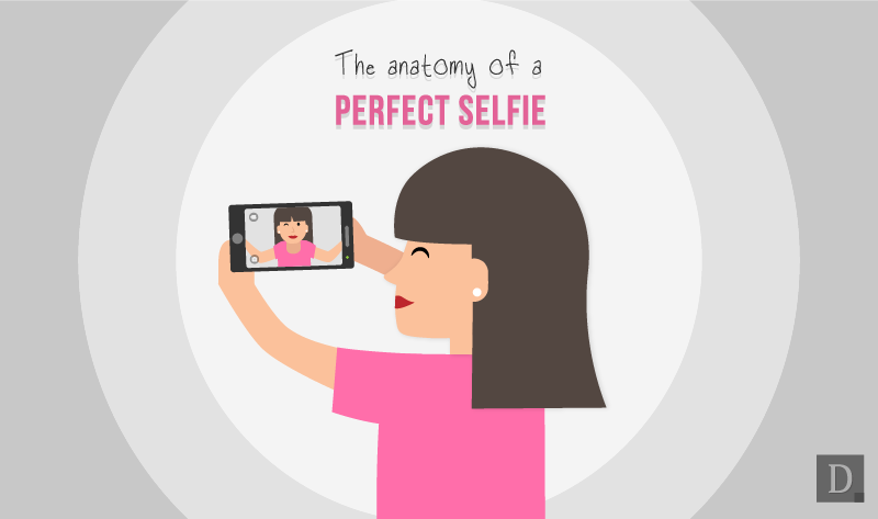 How to take a Perfect Selfie - #infographic #socialmedia
