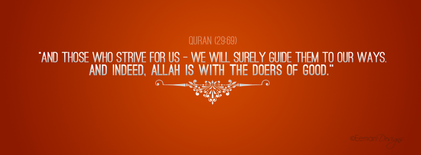 Quran Facebook Covers Quran (29:69) Facebook...