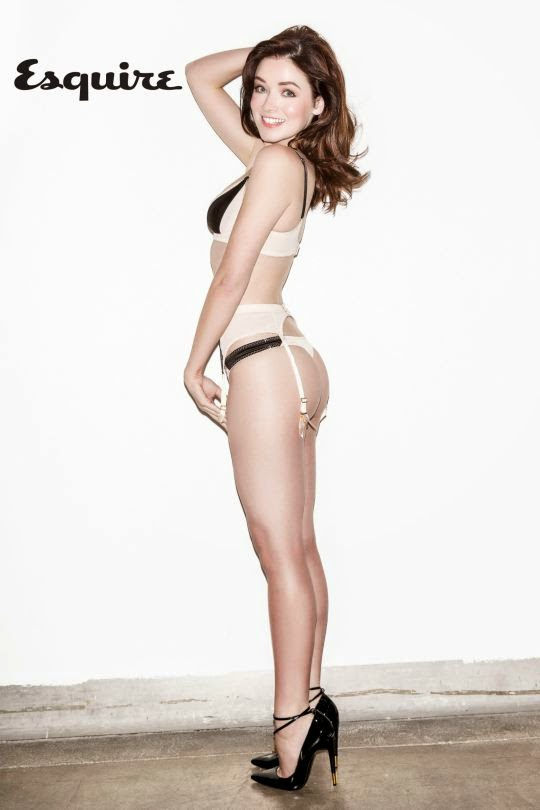 Sarah Bolger Esquire Magazine lingerie photos
