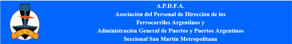 Inicio APDFA San Martín Metropolitana Ricardo Cencioni