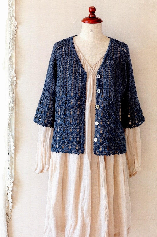 Free Crochet Pattern Top Down Cardigan ~ Dancox for .