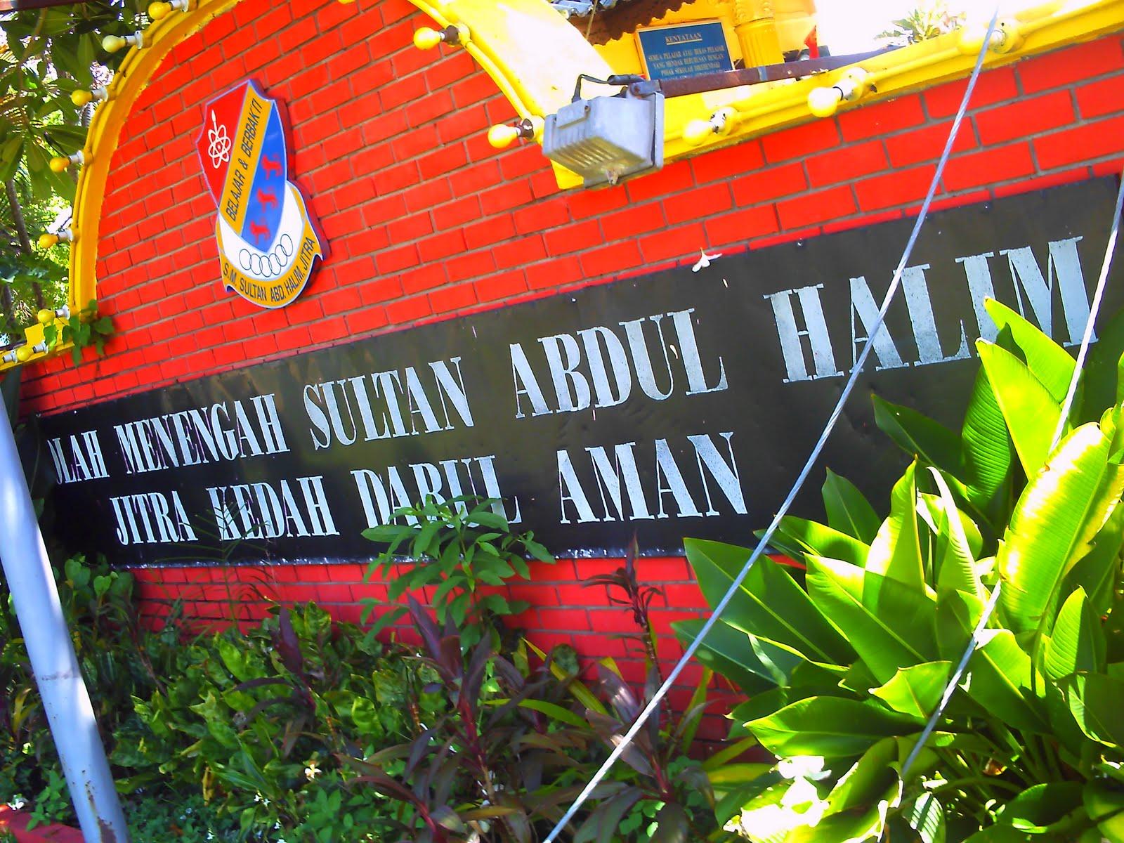 My Life My Style Sekolah Menengah Sultan Abdul Halim Jitra