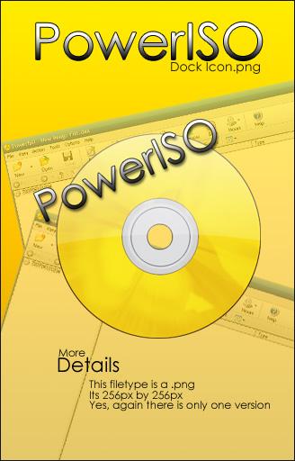 PowerISO V 5 APOYO CD / DVD / BD ARCHIVOS DE IMAGEN CREA,QUEMA