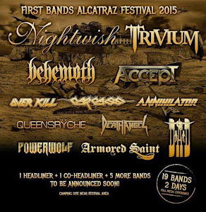 FIRST BANDS ALCATRAZ FESTIVAL 2015