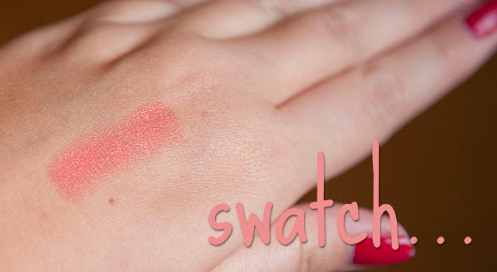 MAC Ravishing Lipstick Peach Review Swatch