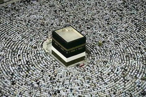 thehuman heart = the true Kabba, Qualb
