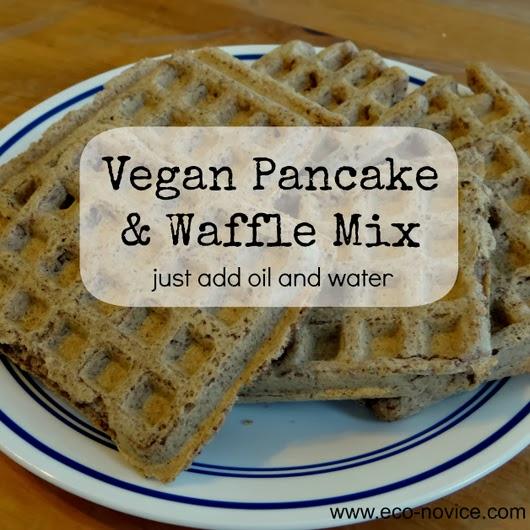 Vegan Whole Grain Waffle & Pancake Mix ~ Eco-novice