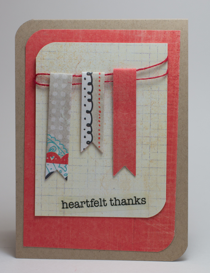 Homemade Cards By Erin Thank You Cards