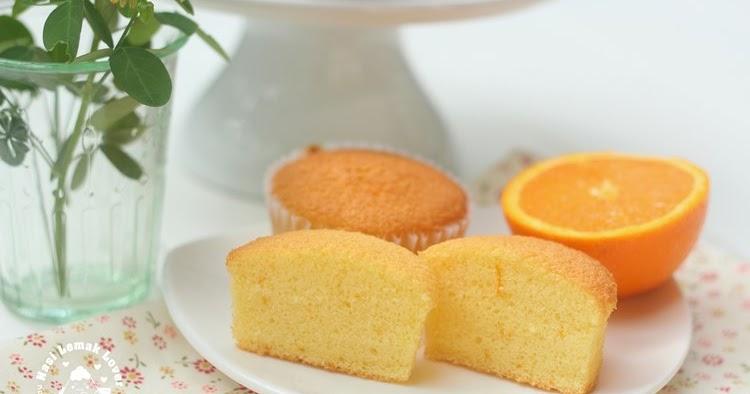 Orange Sponge Cake Nasi Lemak Lover