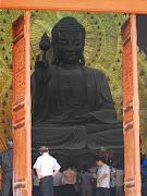 Estatua de Buda en bronce en Bai Dinh