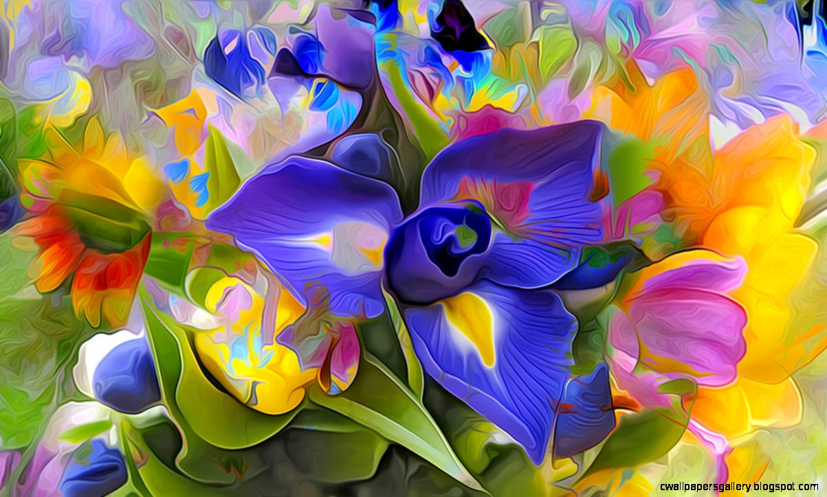 3D Flowers free Wallpapers 45 photos for your desktop download