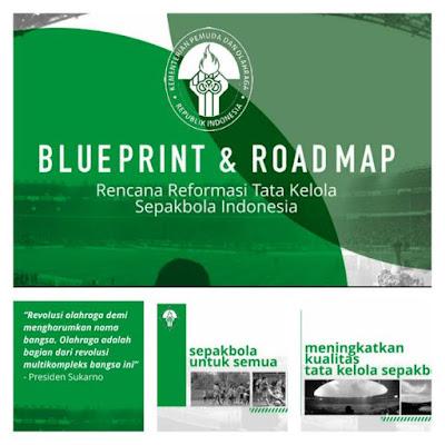 Blueprint & Roadmap Rencana Reformasi Tata Kelola Sepakbola Indonesia