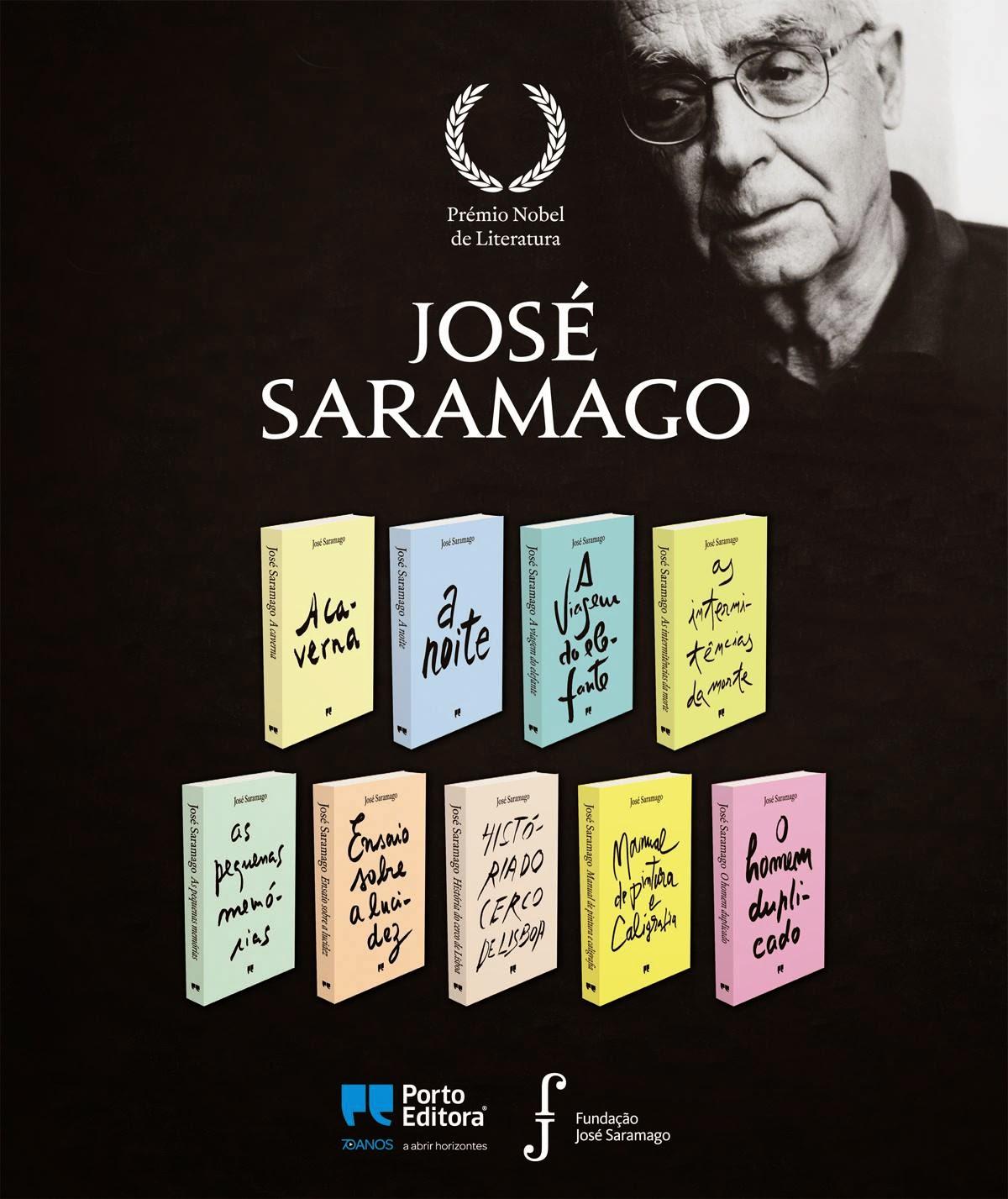 As Capas das Novas Edições das Obras de José Saramago