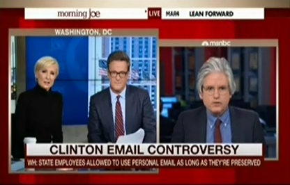 "David Brock Calls On The New York Times To Correct Sloppy Clinton Email Story ""Based On A False Premise"""