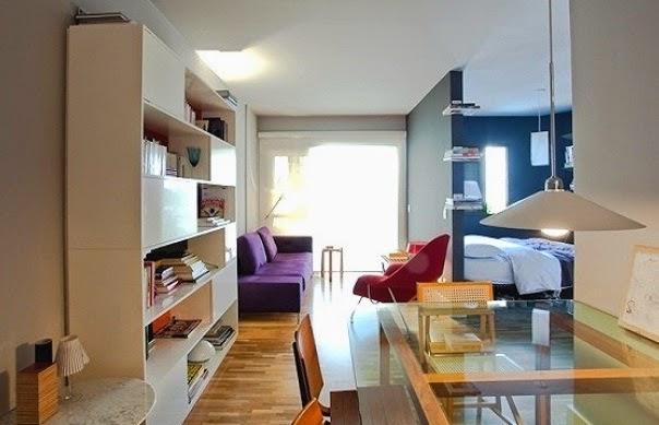 decoracao kitnet quarto cozinha – Doitricom -> Decoracao Banheiro Kitnet