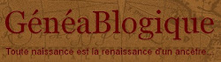 Mon blog de généalogie