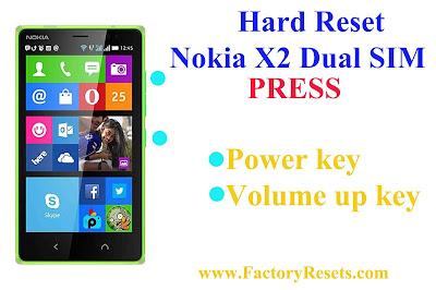 Hard Reset  Nokia X2 Dual SIM