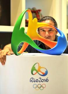 Fred Gelli - Criação do Logo Olimpíadas Rio 2016 e Paralimpíadas - Agência Tátil