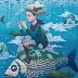 A arte de rua surreal de Rustam QBIC