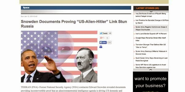 Allien Hitler Kendalikan Pemerintahan Amerika?