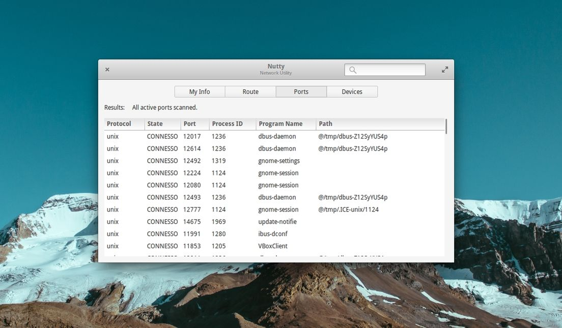 Nutty in elementary OS