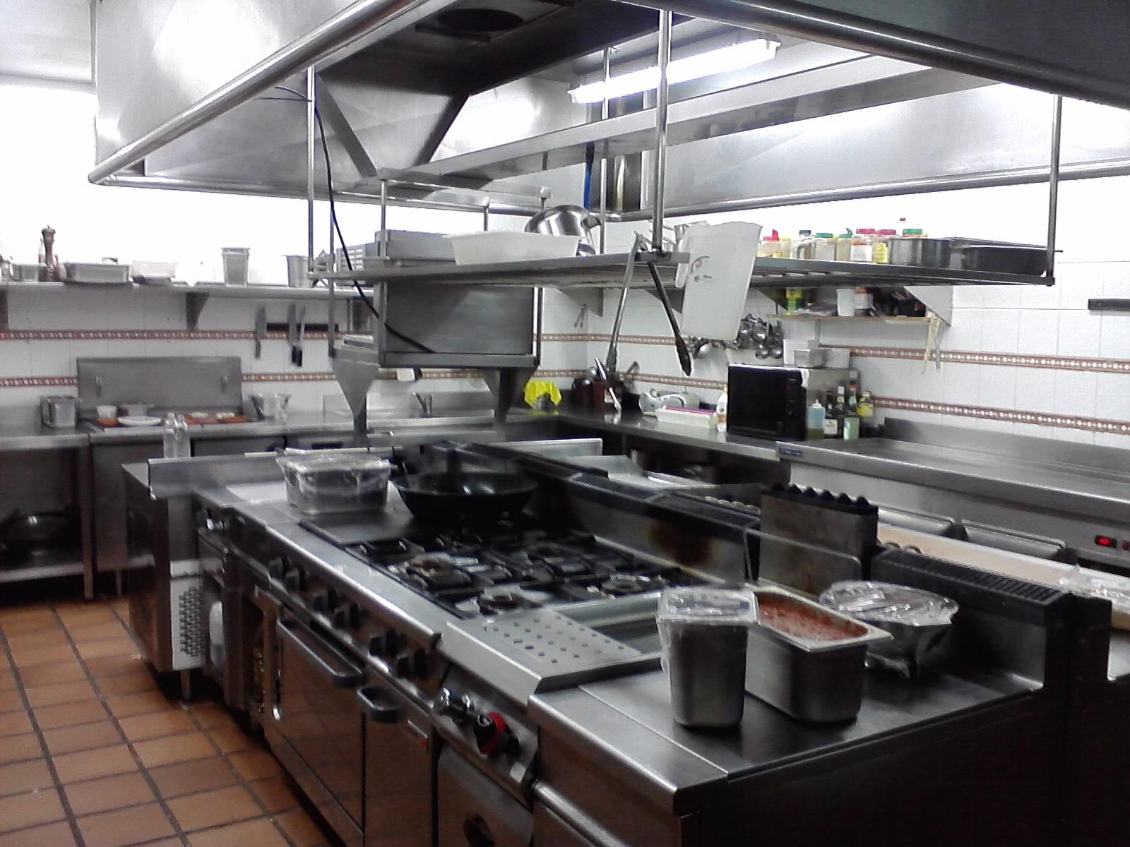 Tallerdehosteler ab sica junio 2012 for Cocina de restaurante