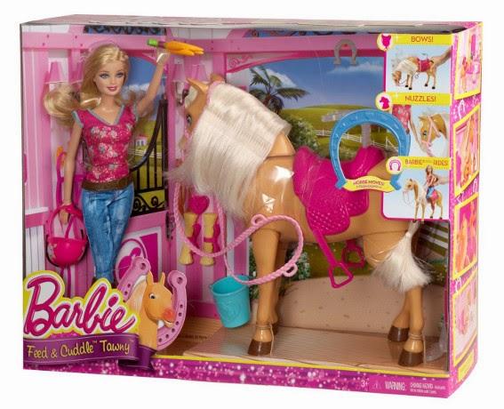 JUGUETES - BARBIE  Barbie cuida de su caballo | Muñeca  Producto Oficial | Mattel BJX85 | A partir de 3 años