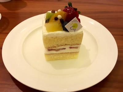 Strawberry Short Cake from Chef Yamashita at Ngee Ann City