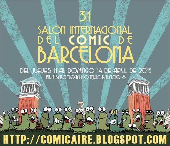 Invitaciones para el 31 Saló del còmic de Barcelona