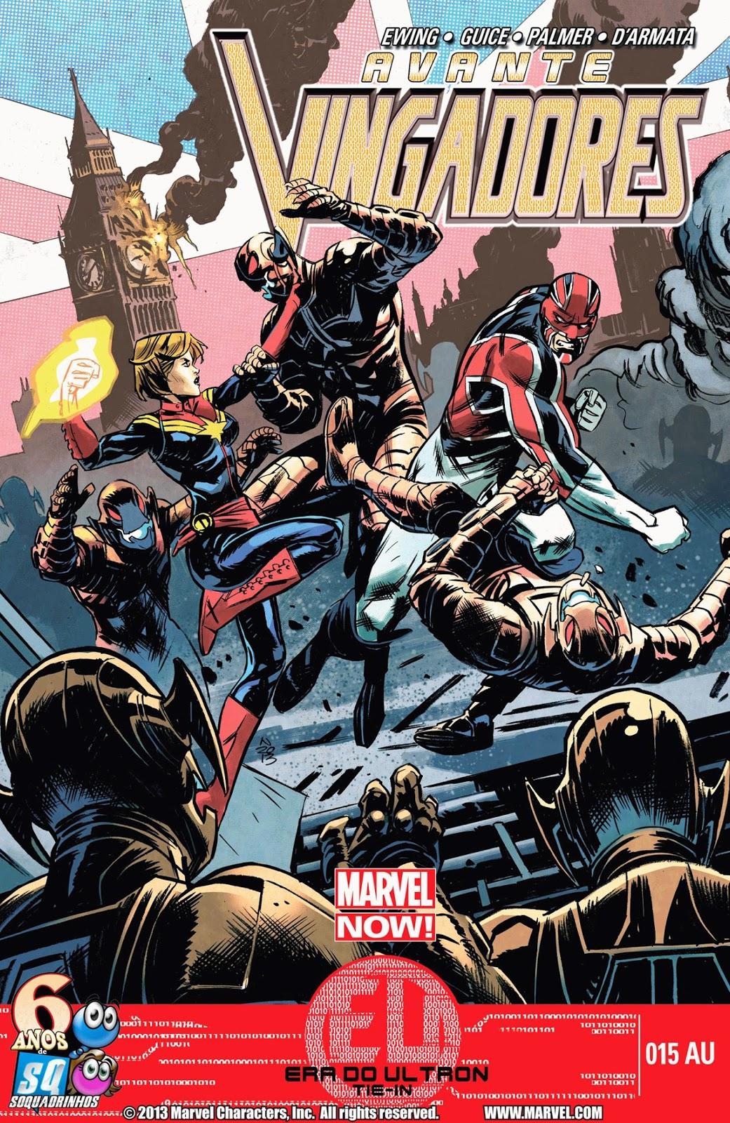 Nova Marvel! Avante Vingadores #15 EU (Opcional)