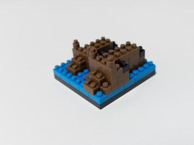 ナノブロックで作ったカピバラ
