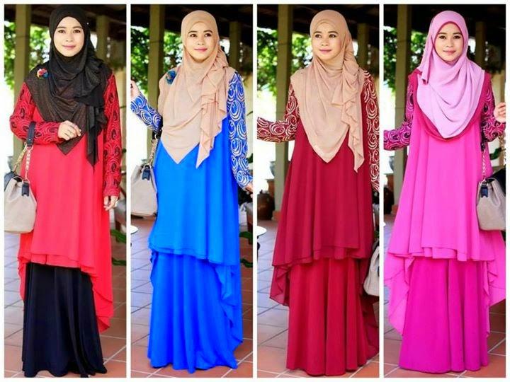 Top Chiffon Lace. Sangat Menawan Dengan Hiasan Lace PAda Lengan Baju Yang Sangat Exclusive.