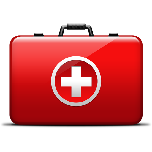 First-Aid Medical Kit Icon PSD