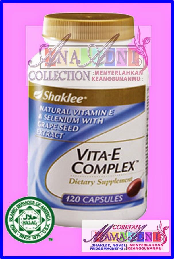 Vitamin E : Peranan dan Kesan Kekurangannya