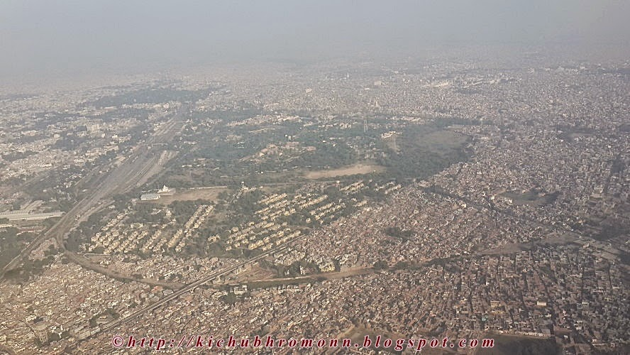 Amritsar from air