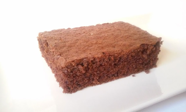 Brownie de chocolate (sin huevo)