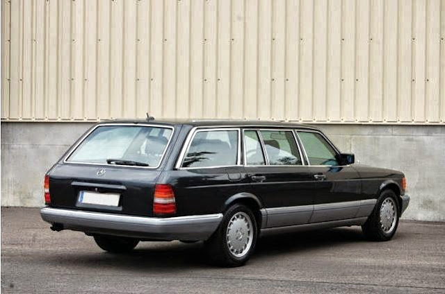 mercedes w126 shooting brake