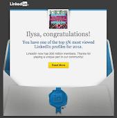 Top 5% on LinkedIn