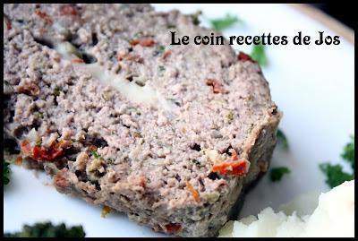 recettes plats  Pain de viande de veau
