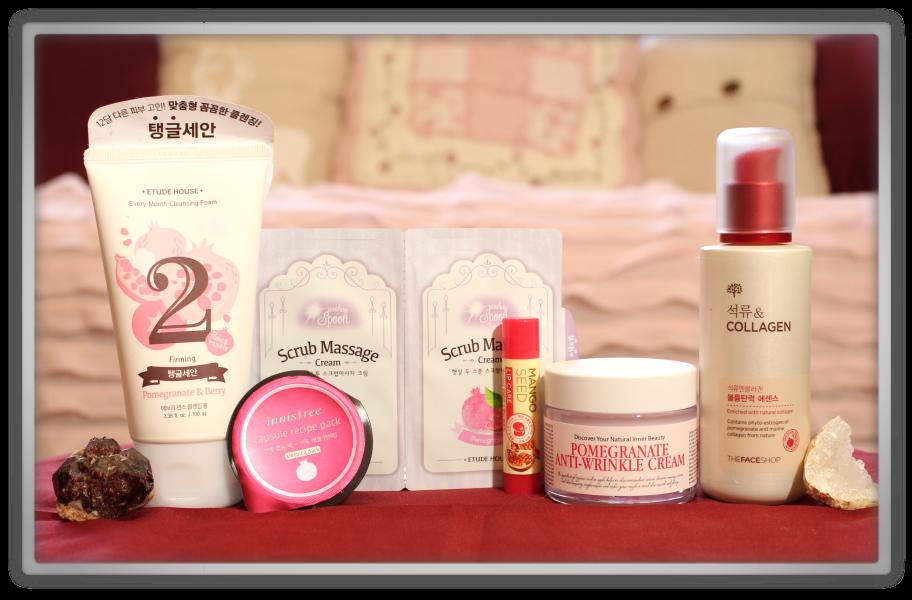 겟잇뷰티박스 by 미미박스 memebox beautybox Superbox #40 Pomegranate unboxing review look inside